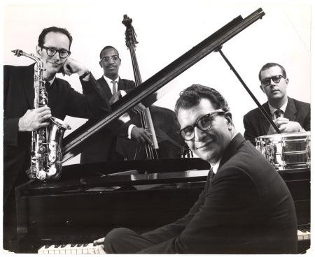 El Cuarteto de Dave Brubeck en su momento glorioso.