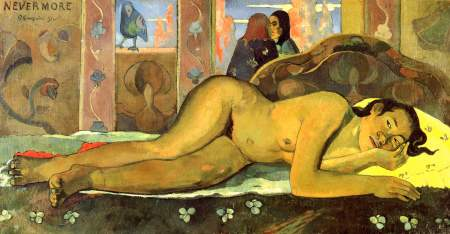 Paul Gauguin. Tahitiana.