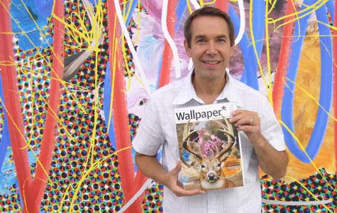 Jeff  Koons es un gran comerciante de su arte. Dice que sigue la línea de Andy Warhol.