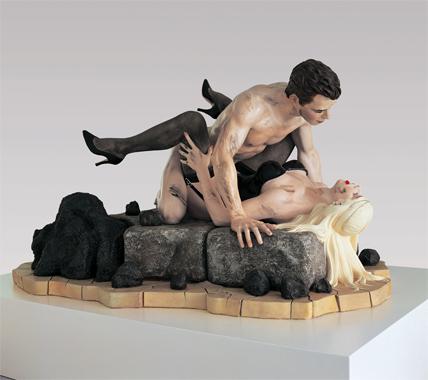 Jeff Koons y Cicciolina