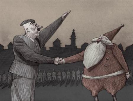 """""""Los años fascistas de Papá Noel"""", que se verá el martes 25, a las 2055, por I-Sat"""