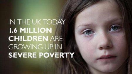 En Gran Bretaña, al menos un millón y medio de niños crecen en la pobreza extrema. (Imagen de Save The Children)