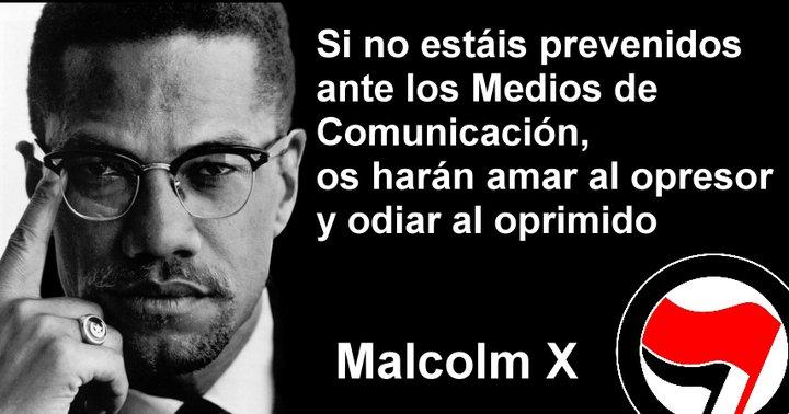 Malcolm X, otro luchador por derechos humanos y civiles asesinado a tiros.