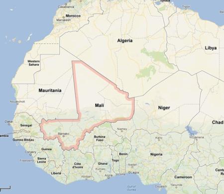 Mali, en Africa. Se completa de a poco el cerco imperial en el ya hambreado continente.
