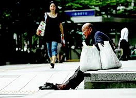 Pobres en Japón. De Life.  Periódiconmx.com