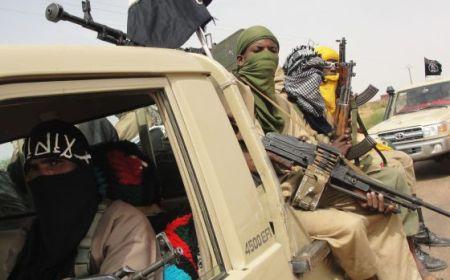Tropas rebeldes de Mali. Foto de R. Hien (AFP)