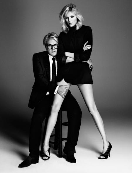 Foto Paola Kudacki. Diseñador zapatos Giuseooe Zanotti. Modelo Anja Rubic. Vogue Fr, feb. 2013