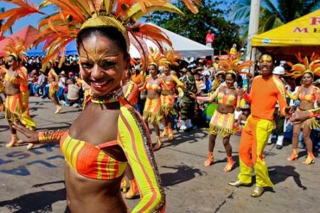 Barranquilla, su famoso carnaval.