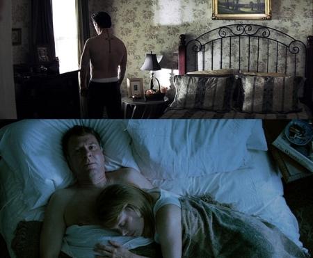 """""""En el dormitorio"""". El asesino puede ser una bestia. El asesino del asesino es otra bestia. El primero, quizás el goce de matar. El segundo, el goce de matar."""