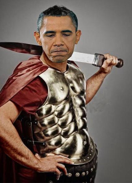 Obama ¿nueva cara del centurión del Imperio o bien alguien que trata de salvar los últimos restos de la República democrática ante el acoso salvaje de los republicanos y corporaciones ultraconservadoras y autoritarias?