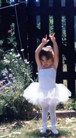 Olivia Súper, en sus casi inicios. A.M.