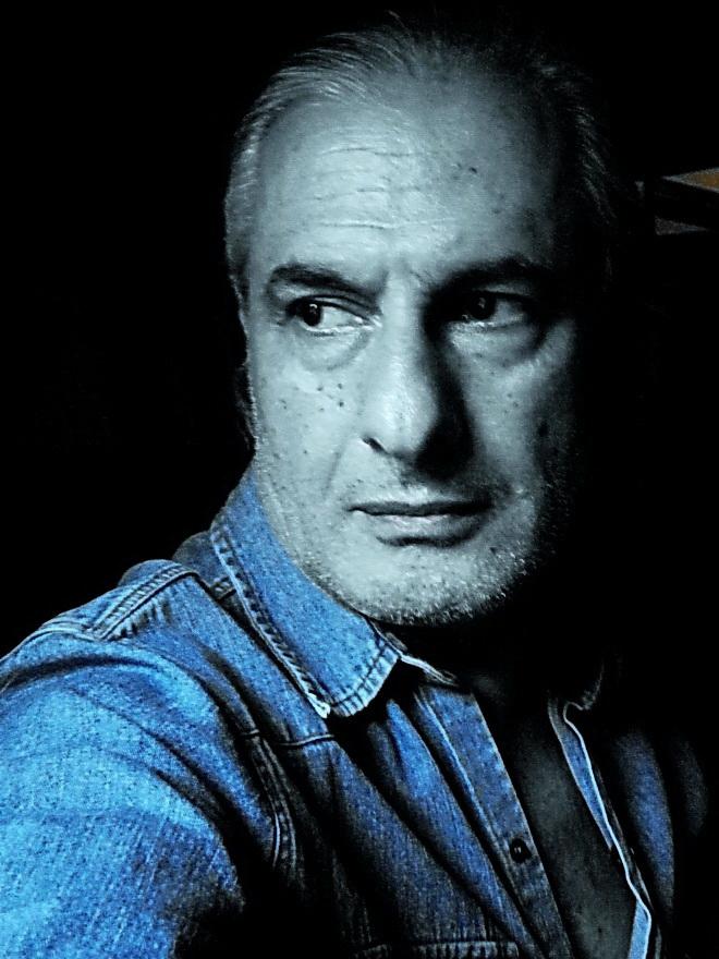 Amílcar Moretti. Autorretrato. Enero 2013.