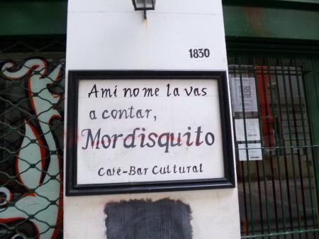 """""""Nadie sabe qué es el comunismo"""". POr Amílcar Moretti. 24 de marzo 2013. Buenos Aires, grafito. Pasaje Discépolo, entre Av. Corrientes y Callao."""