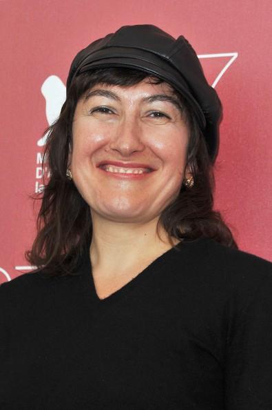 """La directora Athina Rachel Tsangari, de Grecia, autora de """"Attenberg""""."""