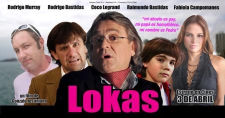 """""""Lokas"""", el filme chileno que intenta abordar con humor el """"tema gay"""", por primerz vez en Chile, un país de sociedad rígida y conservadora."""