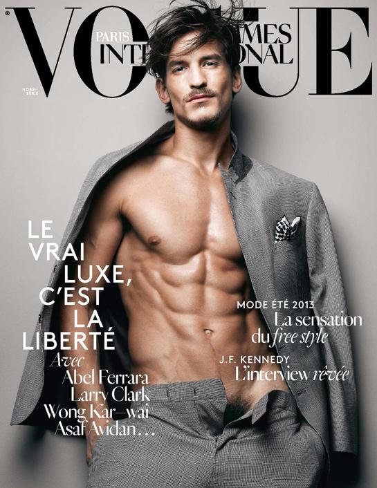 Vogue Hombres Edición Internacional, último número