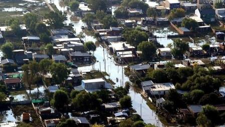 La Plata inundada. Telefé.com
