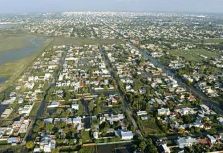 Inundación de la ciudad de La Plata, 4 y 5 de abril 2013, Argentina. Foto AFP