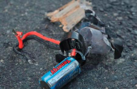 Bomba, artefacto, usado en el atentado en maraton Boston. Diario USA: http://www.nydailynews.com/