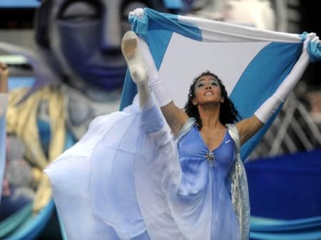 De la celebración de este 25 de Mayo en Argentina,  Buenos Aires