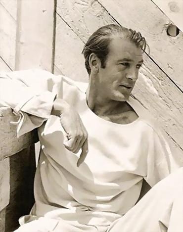 Gary Cooper (1901-1961), en la revista Vanity Fair, en 1934. Foto por George Hoyningen