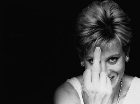 Diana Frances Spencer, princesa de Gales (1961-1997) (fotógrafo no reconocido, consignado en Inspiration, en Pinterest)