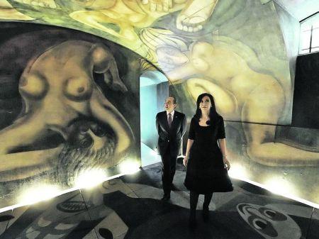 En el año 2008, por impulso de la Presidenta Cristina Fernández de Kirchner, el mural fue trasladado finalmente en los cuatro contenedores desde la playa de grúas bonaerense hasta un taller preparado para los trabajos de restauración ubicado en la Plaza Colón contigua a la Casa Rosada, poniendo en marcha su recuperación.