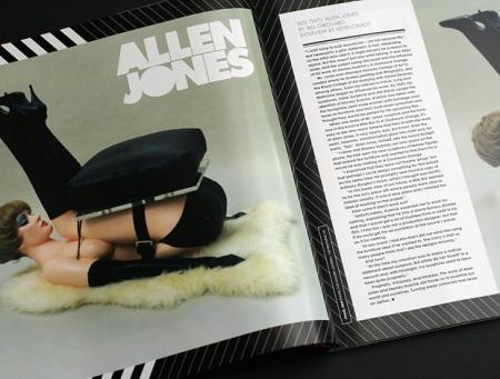 Libro ensayo sobre obra de Allen Jones