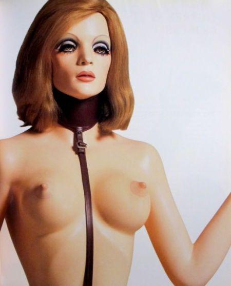 Chica bondage: despedida. Allen Jones.