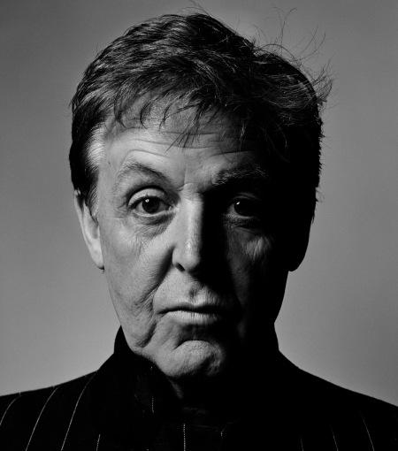 Chris Foyd fotografía a Paul McCartney. Retrato célebre.