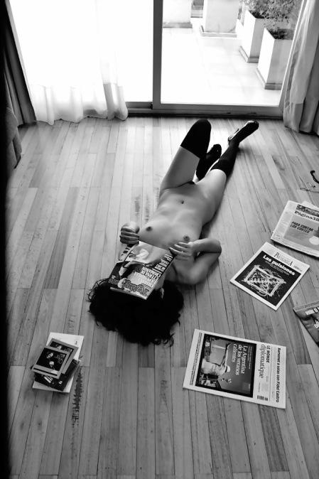 Amilcar Moretti. Modelo: INDA MORENA, de la ciudad de La Plata. Sesión en Suite Loft de la avenida Callao y Viamonte, noveno piso. BUENOS AIRES. 11 de Febrero 2014.